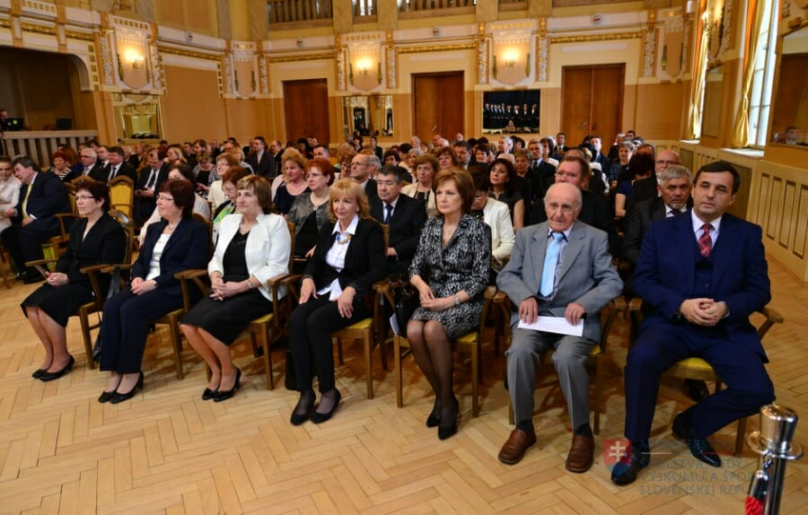 Ocenenie sv. Gorazda aj učiteľom súkromných škôl