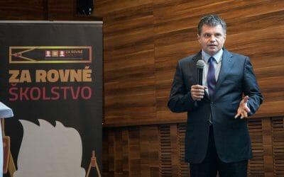 Minister Peter Plavčan: Súkromné školy dobre plnia vzdelávaciu úlohu štátu