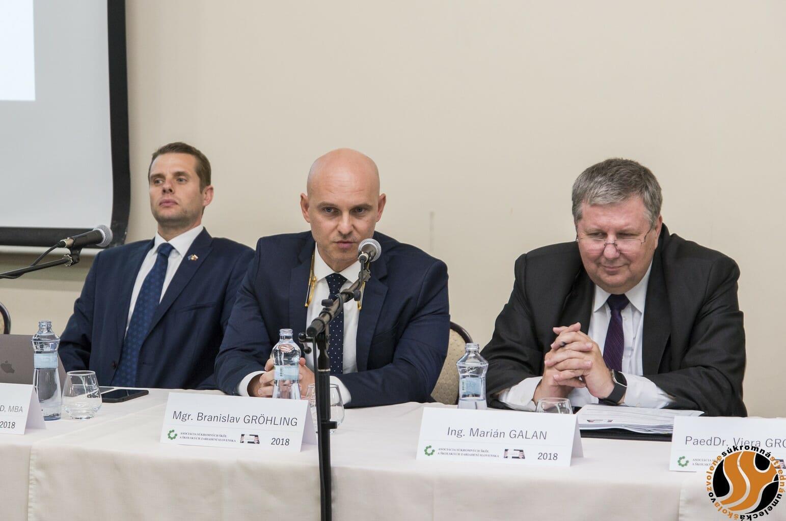 ASŠŠZS: B. Gröhlinga považujeme za ministra s pripravenými riešeniami