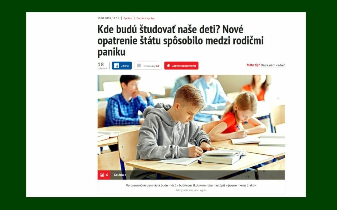 """""""Rodičia sú v neistote,"""" tvrdí Saskia Repčíková"""
