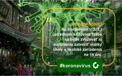 #koronavirus: bude ďalším krokom celoplošné zatvorenie škôl?