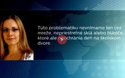 Médiá: E. Ohraďanová pre TV JOJ o bezpečnosti detí po vrútockej tragédii