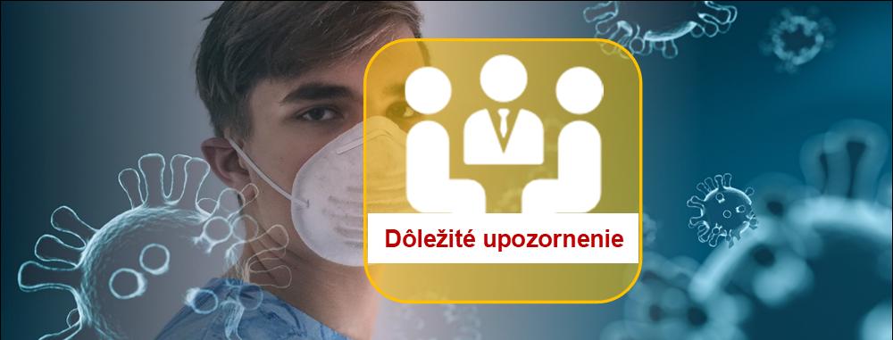 ÚVZ SR: Nové opatrenie pri nosení rúšok v školách a školských zariadeniach (akt. 29.8.)