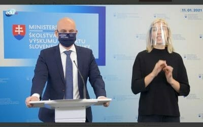 B. Gröhling o dotáciách školským knižniciam, jedálňam a na digitalizáciu škôl